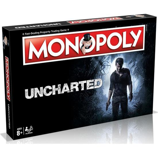 Uncharted: Uncharted Board Game Monopoly *English Version*