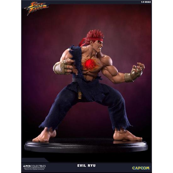 Street Fighter: Street Fighter IV Statue 1/4 Evil Ryu 42 cm