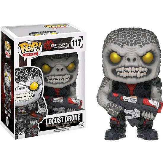 Gears Of War: Locust Drone POP! Games Vinyl Figur (#117)
