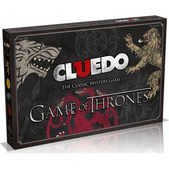 Game Of Thrones: Game of Thrones Board Game Cluedo *English Version*