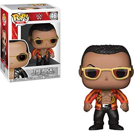 WWE: The Rock (Old School) POP! WWE Vinyl Figur (#46)