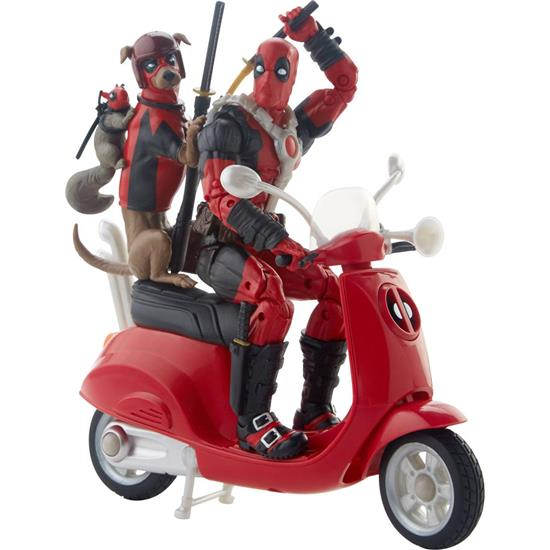 Marvel: Marvel Legends Series Ultimate Action Figures 15 cm Deadpool with Scooter