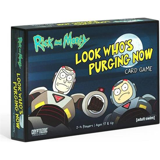 Rick and Morty: Rick and Morty Gryphon Card Game Look Who