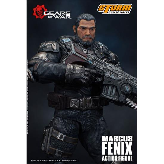 Gears Of War: Gears of War 5 Action Figure 1/12 Marcus Fenix 16 cm