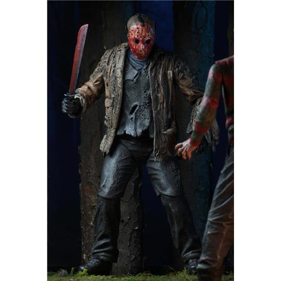 Friday The 13th: Freddy vs. Jason Ultimate Action Figure Jason Voorhees 18 cm