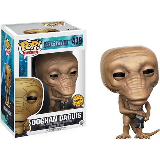 Valerian and the City of a Thousand Planets: Doghan Daguis POP! Movie Vinyl Figur (#439) - CHASE B