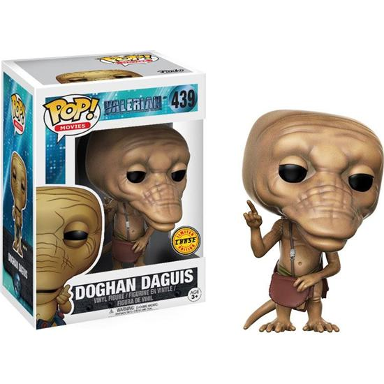 Valerian and the City of a Thousand Planets: Doghan Daguis POP! Movie Vinyl Figur (#439) - CHASE A