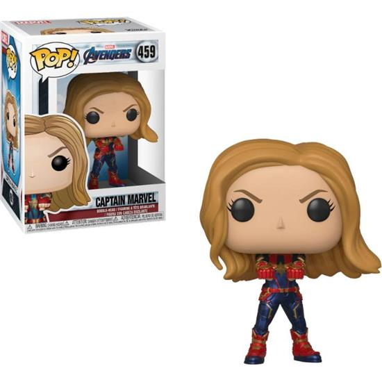 Avengers: Captain Marvel POP! Movies Vinyl Figur (#459)