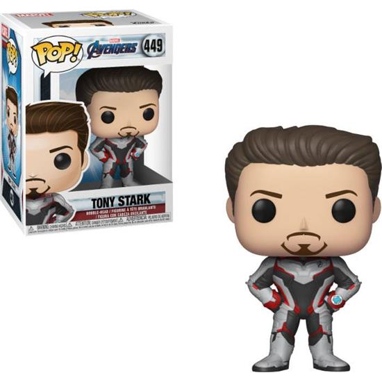 Avengers: Tony Stark POP! Movies Vinyl Figur (#449)