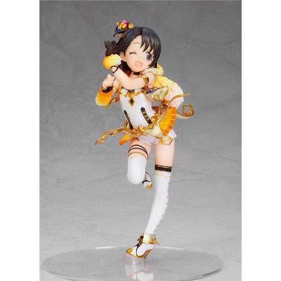 Idolmaster: The Idolmaster Cinderella Girls PVC Statue 1/7 Chie Saski Party Time Gold Ver. 19 cm