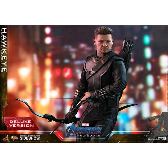 Avengers: Hawkeye Deluxe Version Movie Masterpiece Action Figure 1/6 30 cm