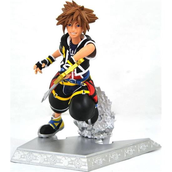 Kingdom Hearts: Kingdom Hearts Gallery PVC Statue Sora 18 cm