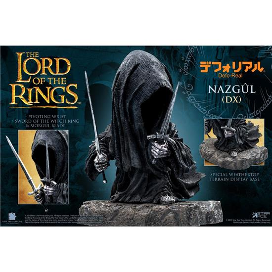 Lord Of The Rings: Nazgul Deluxe Version Defo-Real Series Soft Vinyl Figure 15 cm