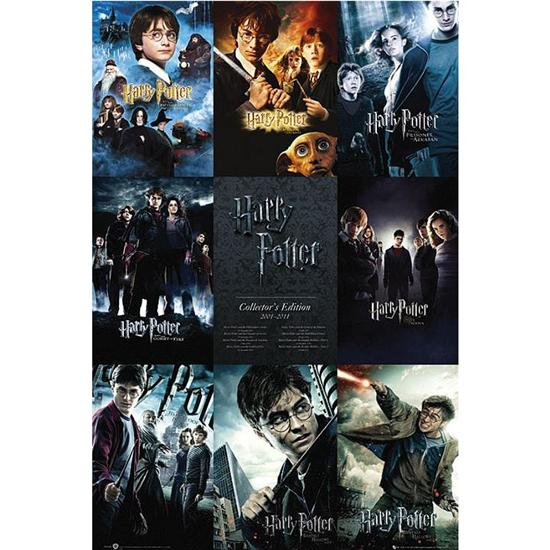 Harry Potter: Collector Edition 2001-2011 Plakat