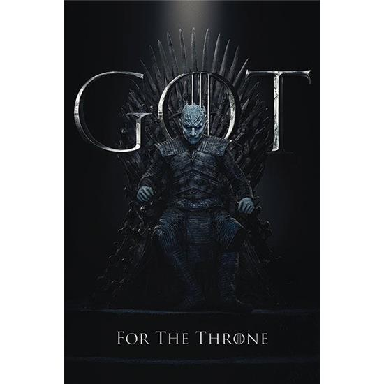 Game Of Thrones: Night King for the Throne Plakat