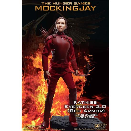 Hunger Games: Katniss Everdeen Red Armor Ver. MFM Action Figure 1/6 30 cm