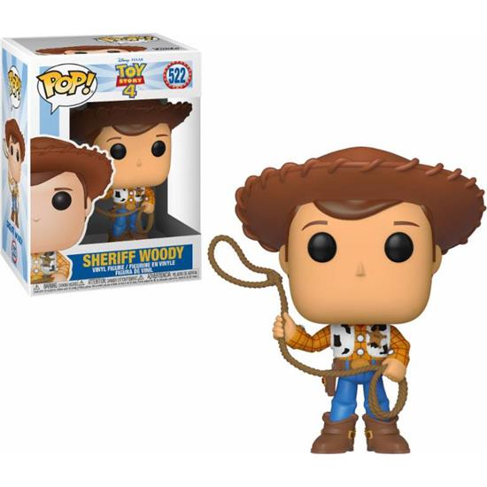 Toy Story: Woody POP! Disney Vinyl Figur (#522)