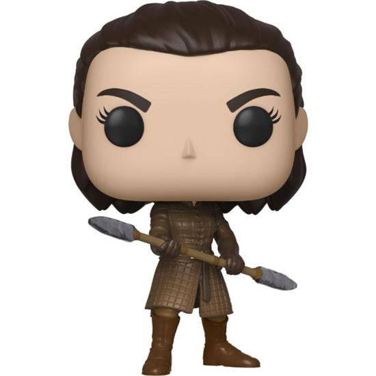 Game Of Thrones: Arya w/Two Headed Spear POP! Television Vinyl Figur