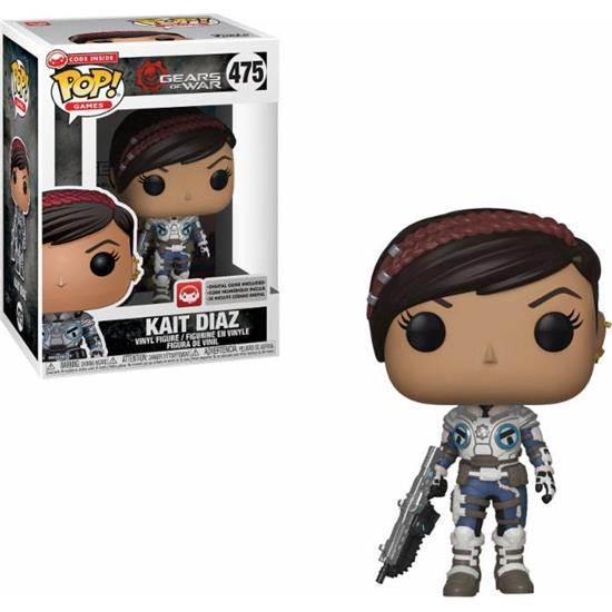 Gears Of War: Kait POP! Games Vinyl Figur (#475)