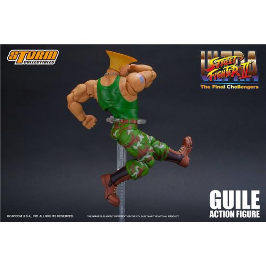 Street Fighter: Guile The Final Challengers Action Figure 1/12 16 cm
