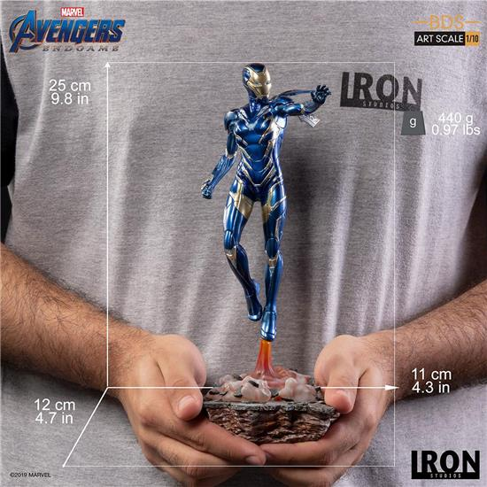 Avengers: Pepper Potts in Rescue Suit BDS Art Scale Statue 1/10 25 cm