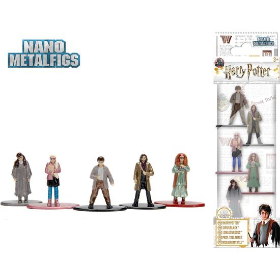 Harry Potter: Harry Potter Nano Metalfigs 5-Pak Sæt 3B