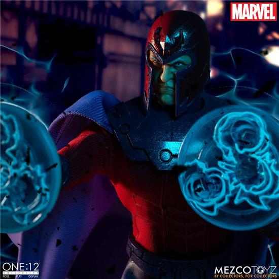 Marvel: Magneto One:12 Action Figure 1/12 17 cm