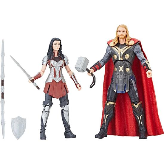 Thor: Thor & Sif Marvel Legends Series Action Figure 2-Pack 15 cm