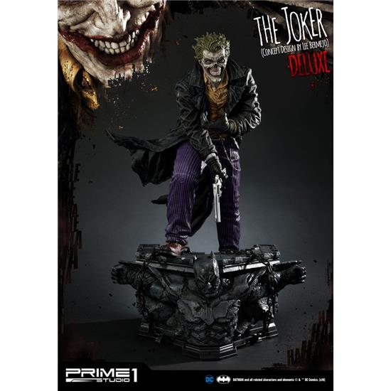 DC Comics: The Joker Statue by Lee Bermejo Deluxe Version 71 cm