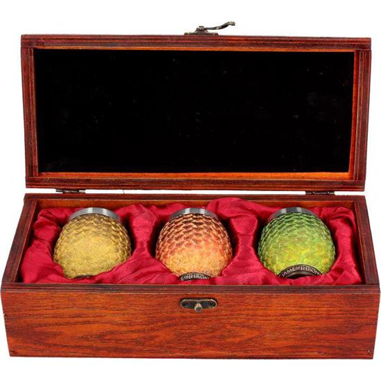 Game Of Thrones: Dragon Eggs Shot Glas 3-Pak