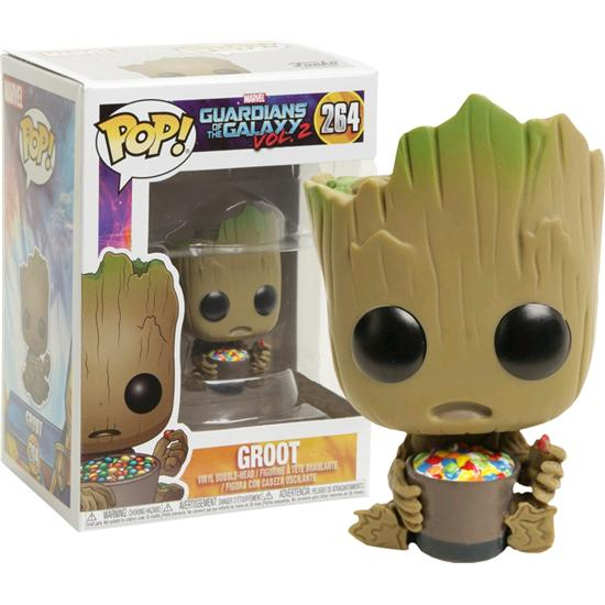 Guardians of the Galaxy: Groot med Slik Skål POP! Movies Vinyl Figur (#264)