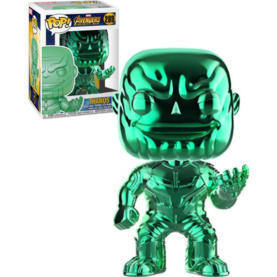 Avengers: Thanos Green Chrome POP! Movies Vinyl Figur (#289)