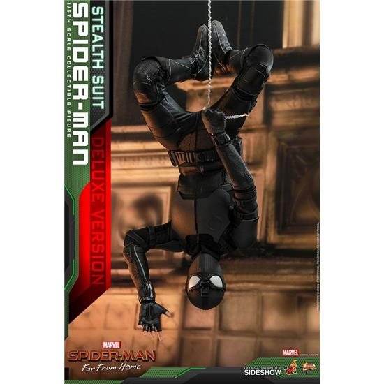 Spider-Man: Spider-Man (Stealth Suit) Deluxe Version MM Action Figure 1/6 29 cm