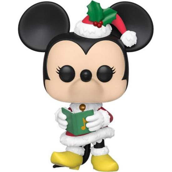 Jul: Minnie Mouse Holiday POP! Disney Vinyl Figur