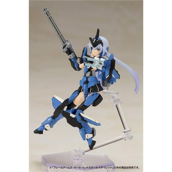 Frame Arms: Hand Scale Girl Style Plastic Model Kit 8 cm