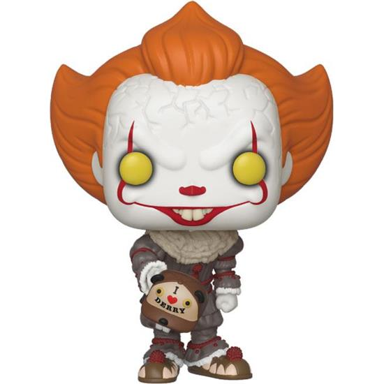 IT: Pennywise Beaver Hat POP! Movies Vinyl Figur