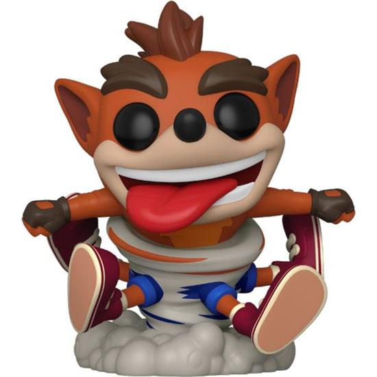 Crash Bandicoot: Crash Bandicoot Tornado POP! Games Vinyl Figur