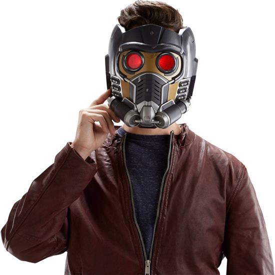 Guardians of the Galaxy: Star-Lord Marvel Legends Electronic Helmet