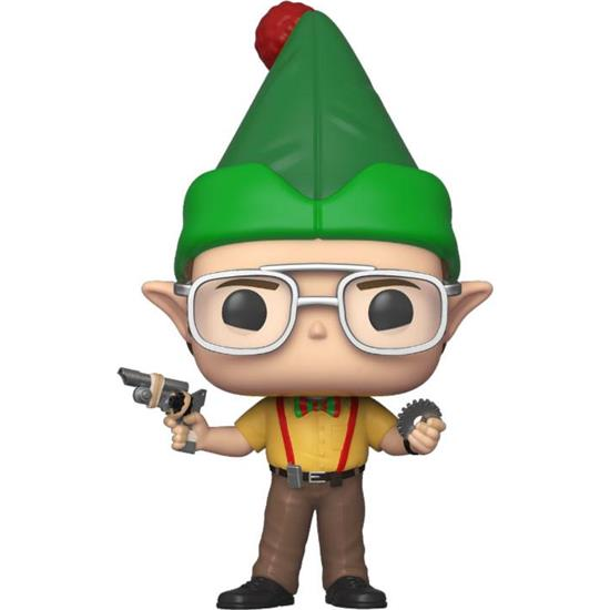 Office: Dwight as Elf POP! TV Vinyl Figur