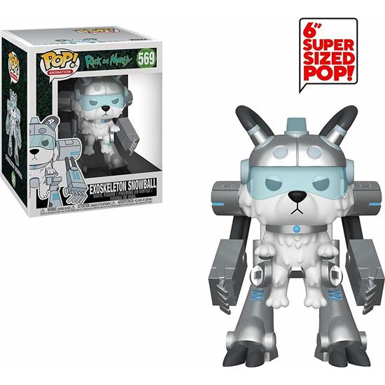Rick and Morty: Exoskeleton Snowball XL POP! Animation Vinyl Figur (#559)