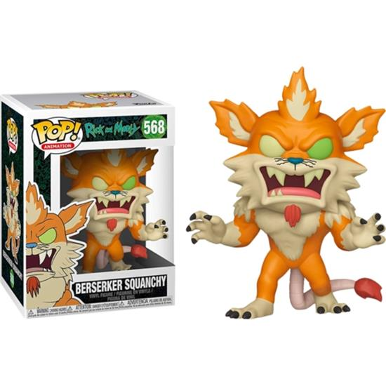 Rick and Morty: Berserker Squanchy POP! Animation Vinyl Figur (#568)