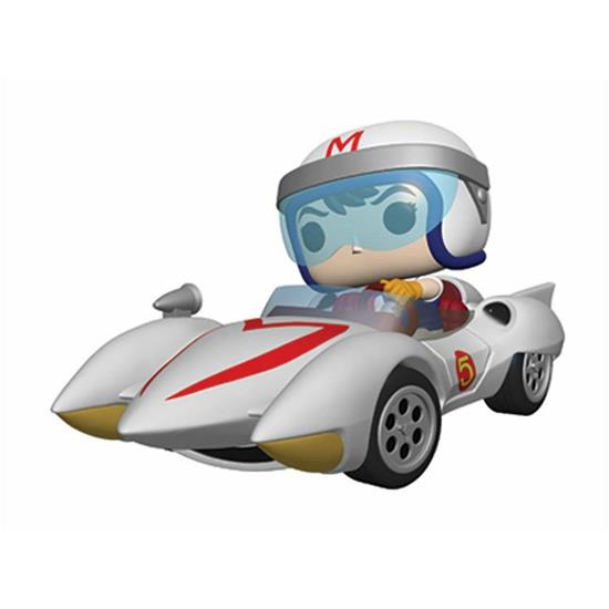 Speed Racer: Speed w/Mach 5 POP! Rides Vinyl Figur 18 cm