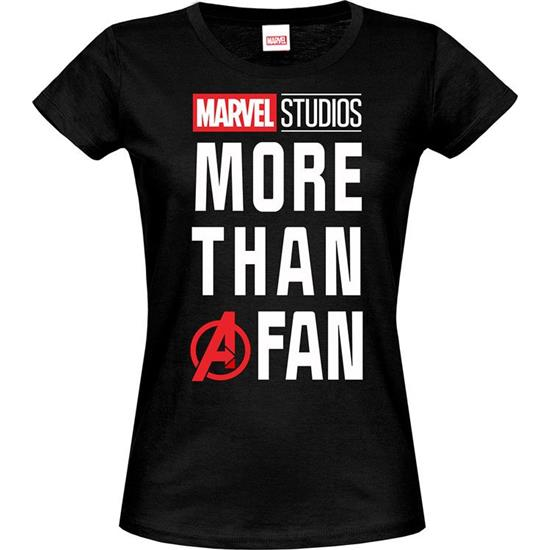 Marvel: More than a Fan T-Shirt (Damemodel)