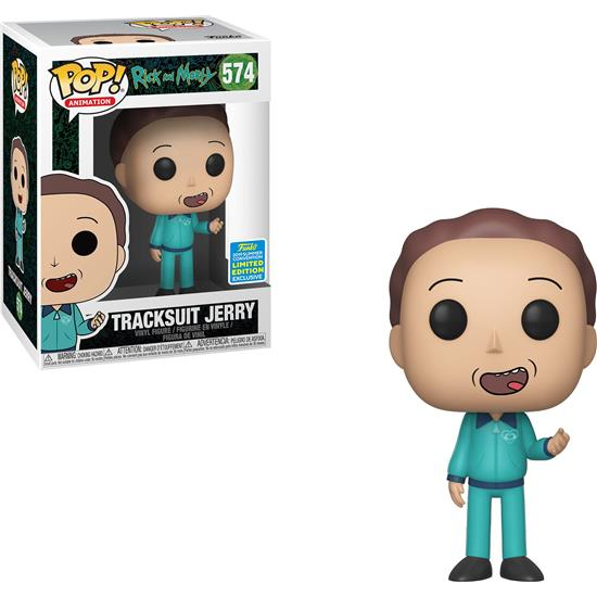 Rick and Morty: Tracksuit Jerry SDCC Exclusive POP! Animation Vinyl Figur (#574)