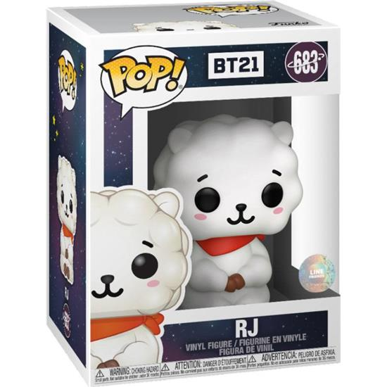 BT21: RJ POP! Animation Vinyl Figur (#683)