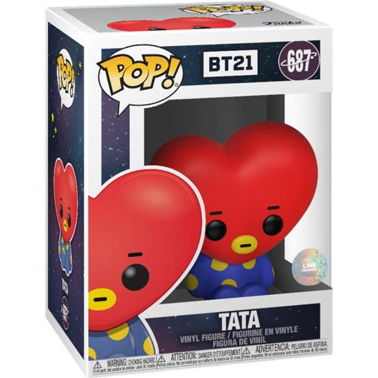 BT21: Tata POP! Animation Vinyl Figur (#687)