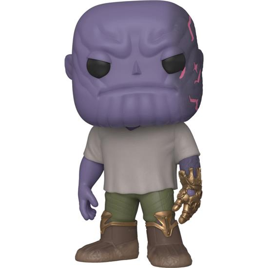 Avengers: Casual Thanos w/Gauntlet POP! Movies Vinyl Figur (#579)
