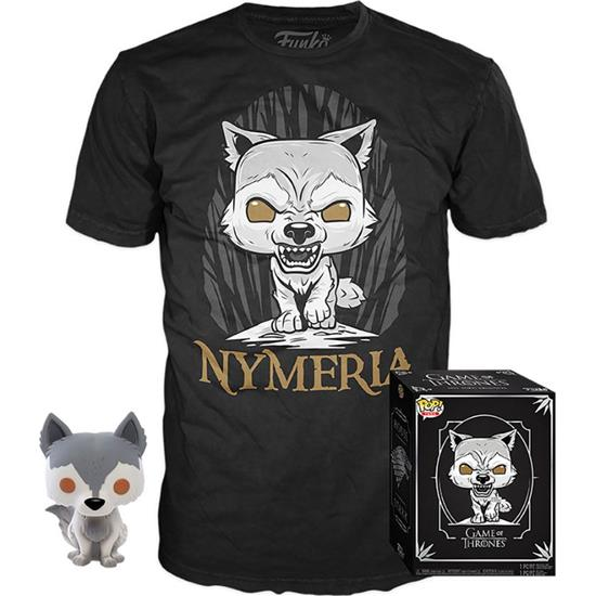 Game Of Thrones: Nymeria POP! & Tee Box