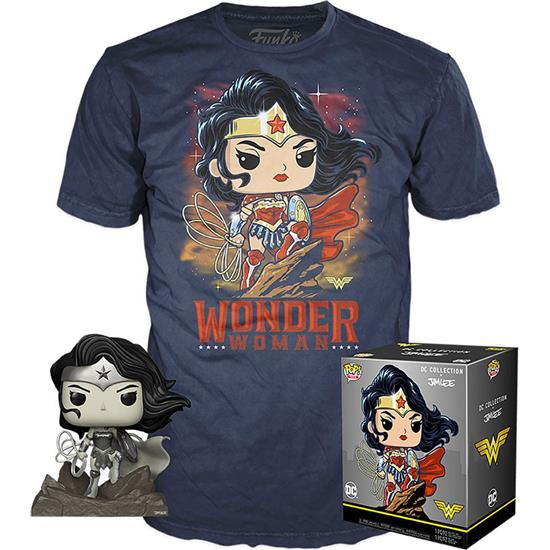 DC Comics: Wonder Woman POP! & Tee Box