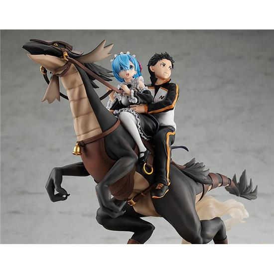 Re:Zero: Rem & Subaru: Attack on the White Whale PVC Statue 30 cm